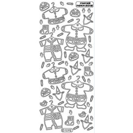 Sticker Ziersticker: Neonato vestiti
