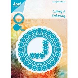 Joy!Crafts / Jeanine´s Art, Hobby Solutions Dies /  Stanzschablone:  Zierrahmen Kreis und Ecke