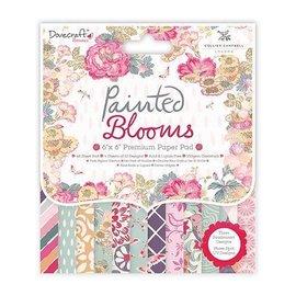 Crafter's Companion blooms Designersblock, pintadas