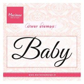 "Marianne Design Transparante Stamp: ""Baby"""