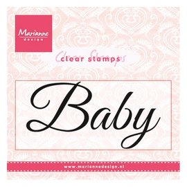 "Marianne Design Transparent stamp: ""Baby"""