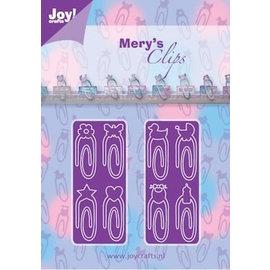 Joy!Crafts / Hobby Solutions Dies modèle de poinçonnage: Paper Clips bébé Neutraal