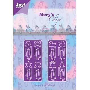Joy!Crafts / Hobby Solutions Dies Stanzschablone: Paperclips Baby-Neutraal