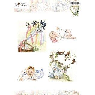 Bilder, 3D Bilder und ausgestanzte Teile usw... Bilderbogen, A4, bébé