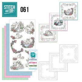 BASTELSETS / CRAFT KITS Card sets with sticker art