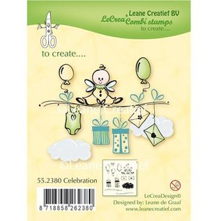 Leane Creatief - Lea'bilities Transparent Stempel: Celebration