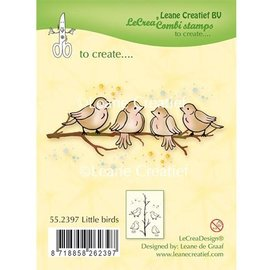 Leane Creatief - Lea'bilities Stamp trasparente: Little Birds