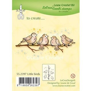 Leane Creatief - Lea'bilities Transparant Stempel: Little Birds