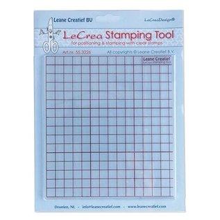 Leane Creatief - Lea'bilities Outil d'estampage pour les timbres transparents