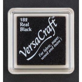 FARBE / STEMPELINK pad d'encre, 33 x 33 mm, noir