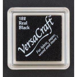 FARBE / STEMPELINK tampone di inchiostro, 33 x 33 mm, nero