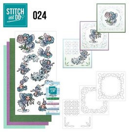 BASTELSETS / CRAFT KITS à enjoliver « frais » set carte