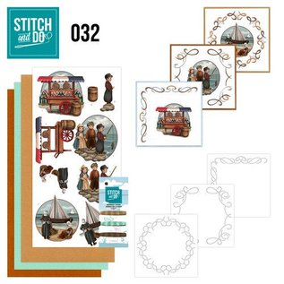 BASTELSETS / CRAFT KITS à brodent ensemble carte « Holland »