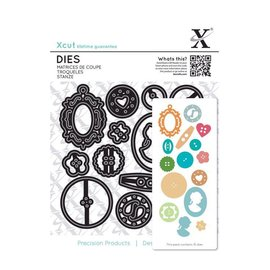 Docrafts / X-Cut Stamping templates: buttons