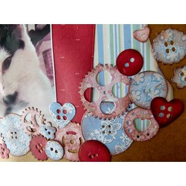 Docrafts / X-Cut Cutting and embossing: Buttons - back in stock!