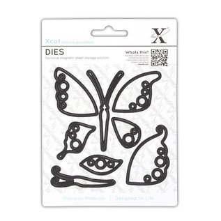 Docrafts / X-Cut Stamping stencils: Butterfly