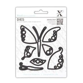 Docrafts / X-Cut Stanzschablonen: Schmetterling
