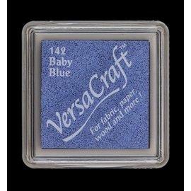 FARBE / STEMPELINK almofada de tinta, 33 x 33 milímetros, Azul bebê