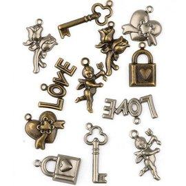 Embellishments / Verzierungen Embellissements, 12 charmes