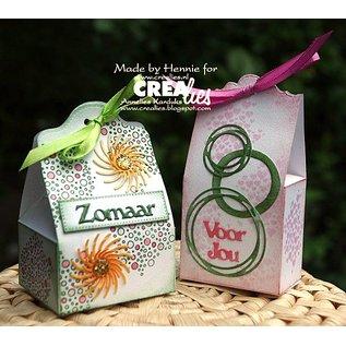 Crealies und CraftEmotions Stamping stencils: 3 mini borders
