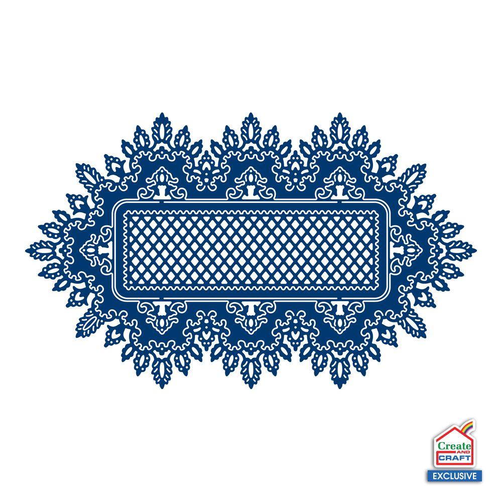 Tattered Lace plantilla de perforación: el marco del cordón ...