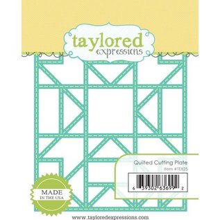 Taylored Expressions Stanzschablone: Quilted Rahmen