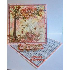 Tattered Lace Perfurando modelo: Árvore de cereja
