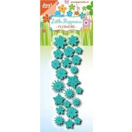 Joy!Crafts / Jeanine´s Art, Hobby Solutions Dies /  Ponsen sjabloon: 22 Miniblümchen