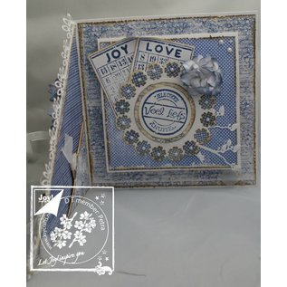 Joy!Crafts / Jeanine´s Art, Hobby Solutions Dies /  Stamping template: 22 mini flowers