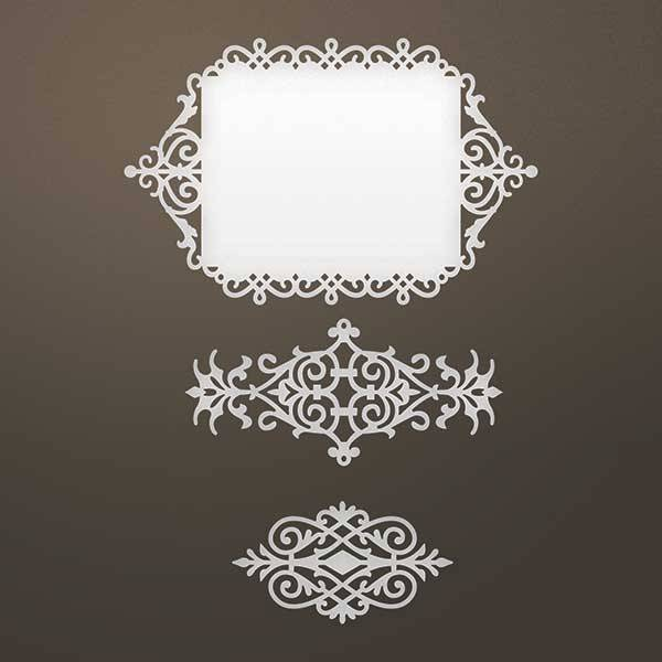 creative expressions und couture creations stamping template
