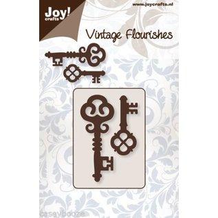 Joy!Crafts / Hobby Solutions Dies Stamping template: 2 vintage keys