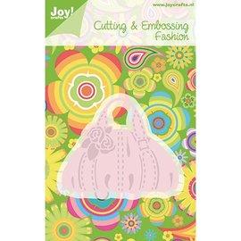Joy!Crafts / Jeanine´s Art, Hobby Solutions Dies /  Stansning skabelon: håndtaske, kun 1 på lager