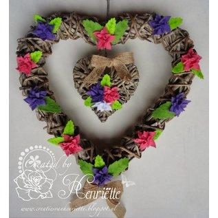 Joy!Crafts / Hobby Solutions Dies Stansning skabelon: 4 blomster med seks kronblade