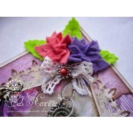 Joy!Crafts / Jeanine´s Art, Hobby Solutions Dies /  modello di punzonatura: 4 fiori a sei petali
