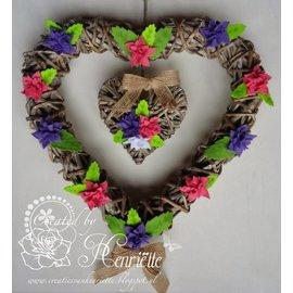 Joy!Crafts / Jeanine´s Art, Hobby Solutions Dies /  modèle POINTAGE: 4 feuilles
