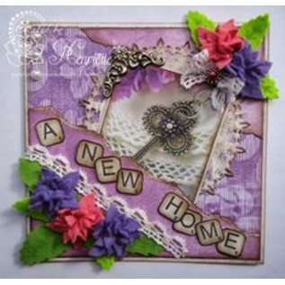 Joy!Crafts / Jeanine´s Art, Hobby Solutions Dies /  Stanzschablone: 4 Blätter