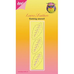 Joy!Crafts / Jeanine´s Art, Hobby Solutions Dies /  Stamping template: 3 large leaves, only 1 in stock