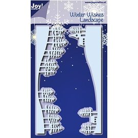 Joy!Crafts / Hobby Solutions Dies Stamping template: Landscape