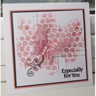 Tattered Lace Template: 3D butterfly