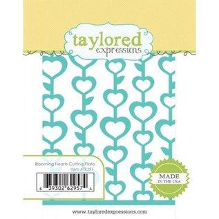 Taylored Expressions Ponsen sjabloon: Bloeiende Harten