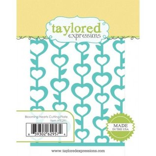 Taylored Expressions Stanzschablone: Blooming Hearts