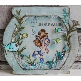 Joy!Crafts / Hobby Solutions Dies Stanzschablone: Algen und Blasen