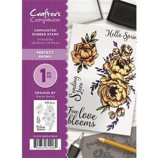 Crafter's Companion timbre en caoutchouc: Belle Rose