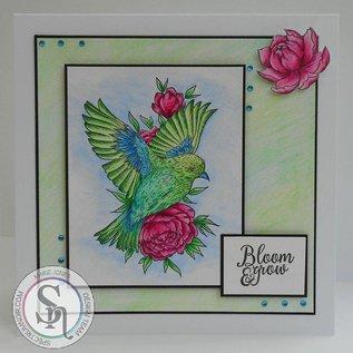 Crafter's Companion Rubber stamp: Little Birdie