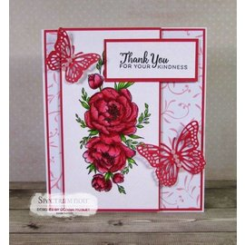 Crafter's Companion Gummi Stempel: Beautiful Rose