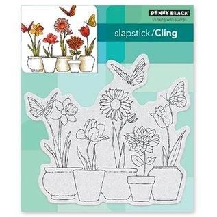 Penny Black Gummi Stempel: Blumen