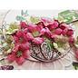 Heartfelt Creations aus USA Heartfelt Creations: Classic Petunia Bouquet Stamp Set + Stanschablone Set + Designerblock