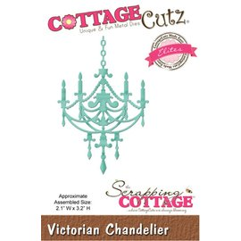 Cottage Cutz Stamping template: Victorian