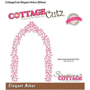 Cottage Cutz Ponsen sjabloon: Elegant Pergola