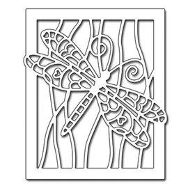 Penny Black Modèle de poinçonnage: Dragonfly dans le contexte